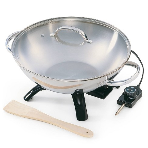 Presto Stainless Steel Electric Wok- 05900 - image 1 of 4