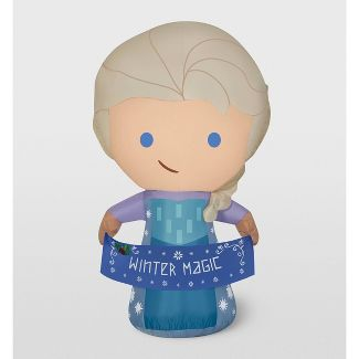 Disney Frozen Elsa Inflatable Holiday Decoration