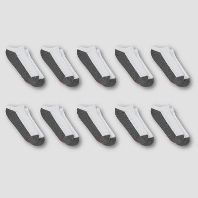 Hanes Premium Men's 10pk Cool Comfort No Show Socks