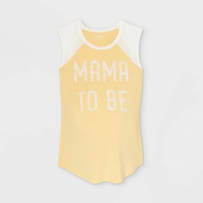 Sleeveless Baseball Graphic Maternity T-Shirt - Isabel Maternity by Ingrid & Isabel™