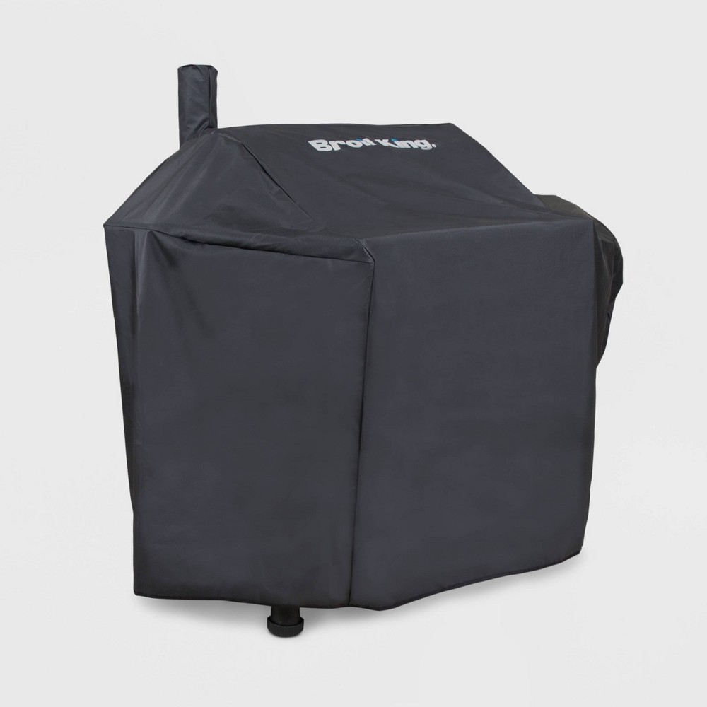 Broil King Offset Smoker Grill Cover Black Broil King Offset Smoker Grill Cover Black