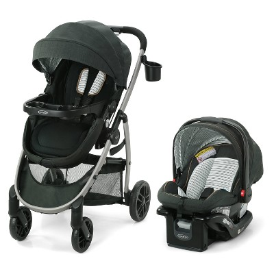 Graco Modes Pramette Travel System with SnugRide Infant Car Seat