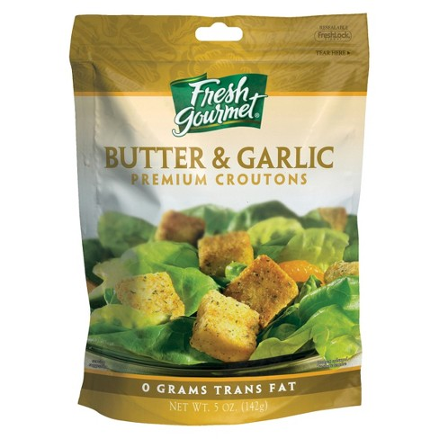 Fresh Gourmet Butter & Garlic Premium Croutons 5oz - image 1 of 1