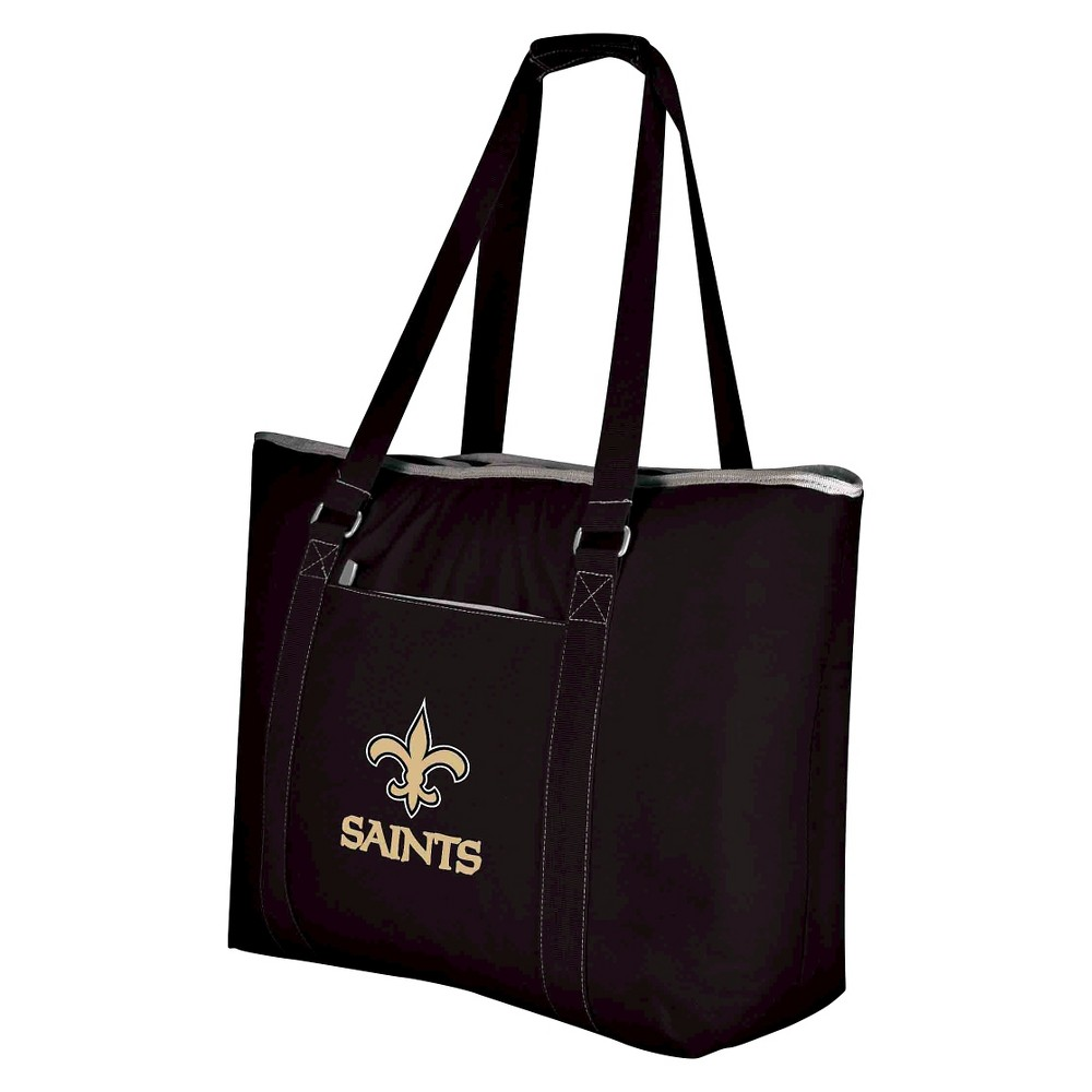 New Orleans Saints Tahoe Cooler Tote By Picnic Time Black