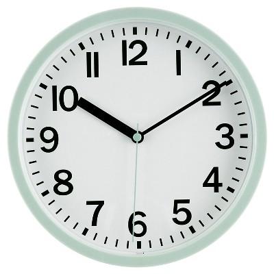 9  Round Wall Clock Mint - Room Essentials™