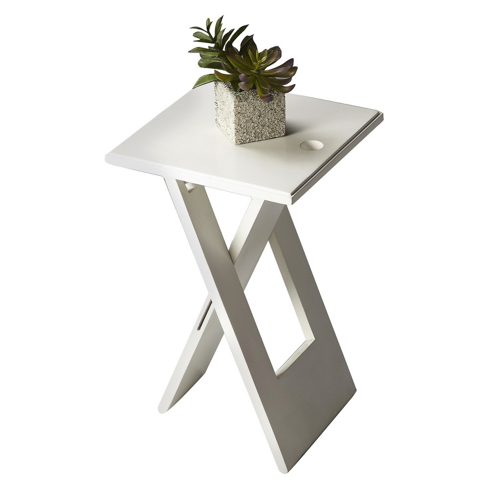 Hammond End Table White- Butler Specialty, White