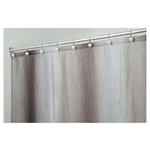Shower Curtain Interdesign Ombre Design Gray Target