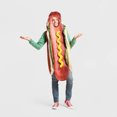Men's Hot Dog Halloween Costume L/XL - Hyde & EEK! Boutique™ - image 1 of 1