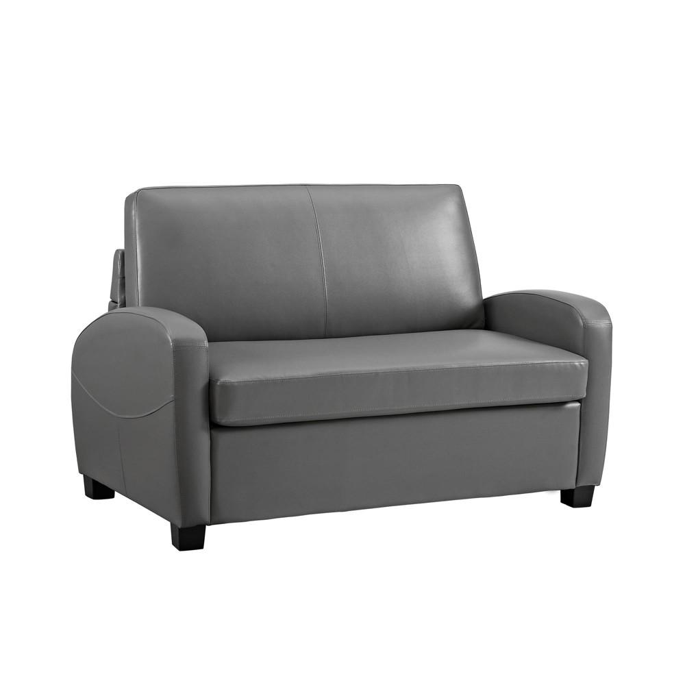 Dallas Sofa Sleeper Gray Dorel Living
