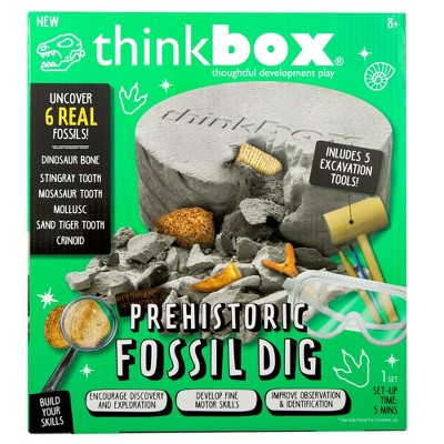 Prehistoric Fossil Dig Activity Kit - Think Box