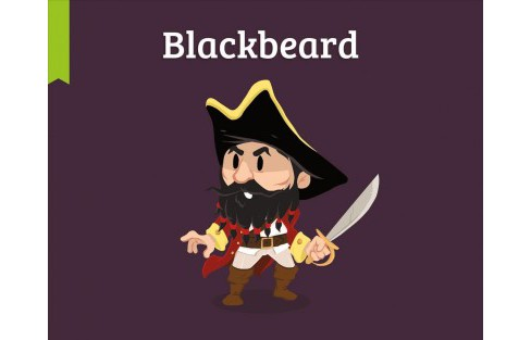 Blackbeard -  (Pocket Bios) by Clementine V. Baron (Hardcover) - image 1 of 1