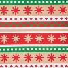 2ct Christmas Gift Bags Red and Green with Fair Isle Pattern - Wondershop™ - image 2 of 2