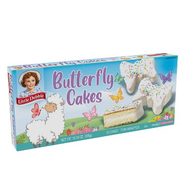 Little Debbie Vanilla Butterfly Cakes - 10ct/10.74oz