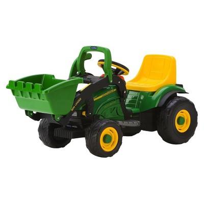 Peg Perego 6V John Deere Mini Loader Powered Ride-On - Green