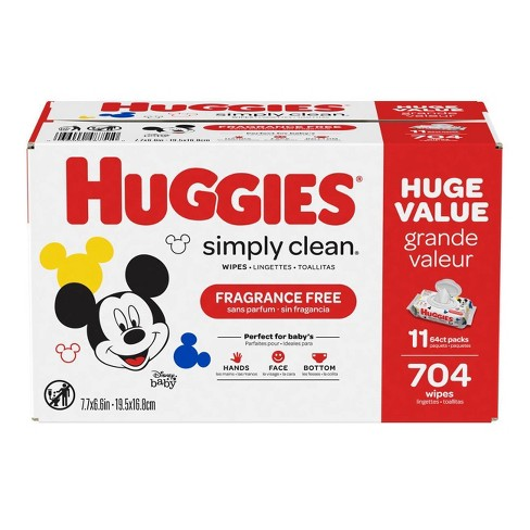 Huggies Simply Clean Baby Wipes - 704ct - image 1 of 4