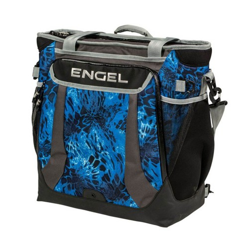 Engel Prym1 5.7 Gal Backpack Ice Cooler with 24 Can Capacity, Shoreline Camo - image 1 of 4