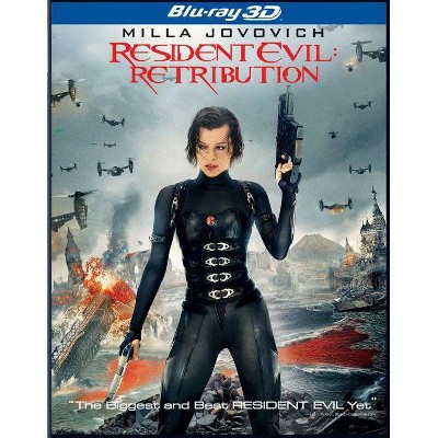 Resident Evil: Retribution (Blu-ray)(2012)