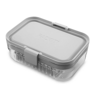 PackIt Mod Lunch Bento – Steel Gray