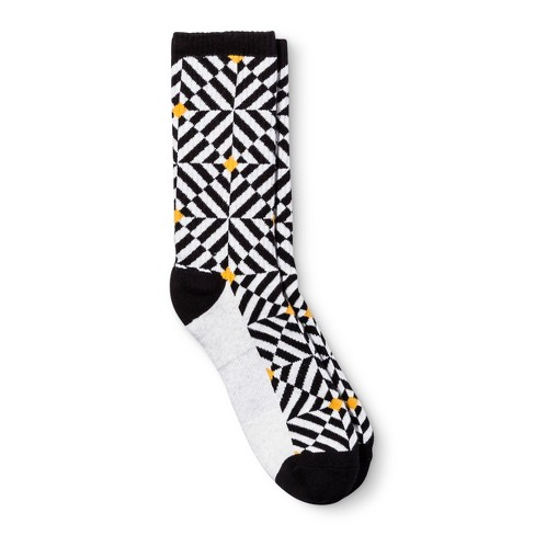 Men's Pair of Thieves Sports Socks - Black/White 8-12 - image 1 of 2