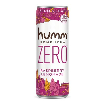 Humm Zero Raspberry Lemonade Kombucha - 11 fl oz