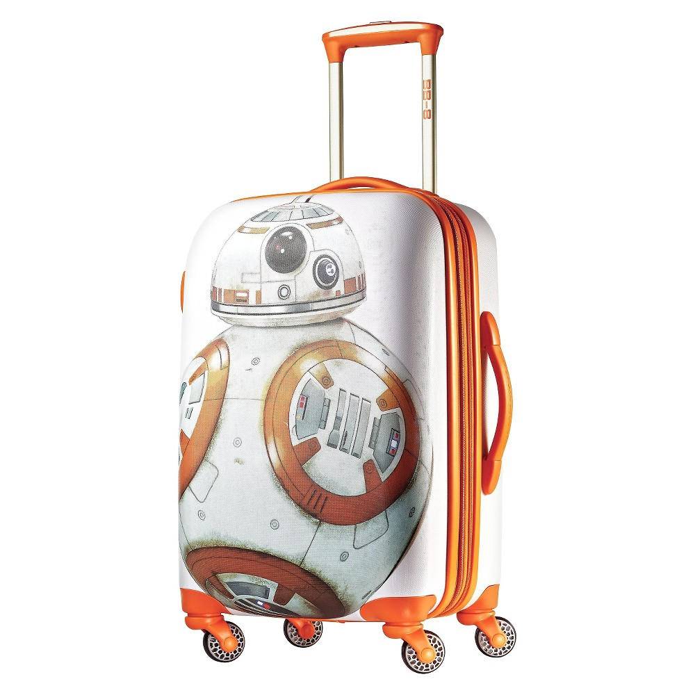 "Image of ""American Tourister Star Wars BB8 Hardside Spinner Suitcase - Orange (21""""), Kids Unisex, MultiColored"""