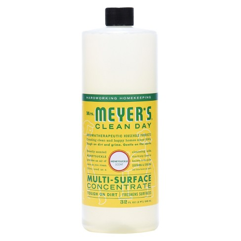 Mrs. Meyer's® Honeysuckle Multi-Surface Concentrate - 32 fl oz - image 1 of 4