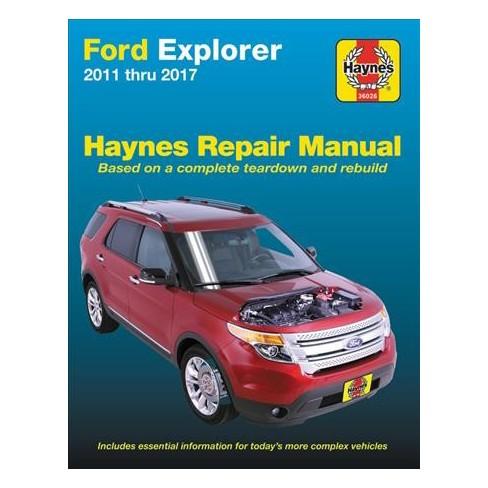 ford explorer 99 manual