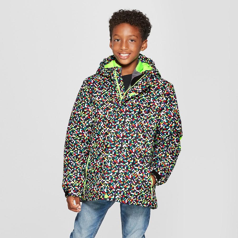 Boys' 3-in-1 System Jacket - Cat & Jack Black L, Green