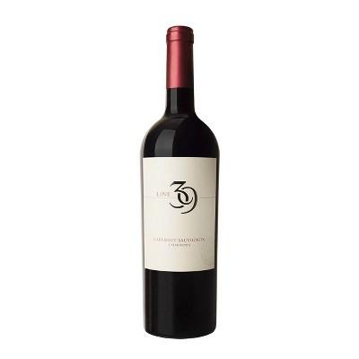 Line 39 Cabernet Sauvignon Red Wine - 750ml Bottle