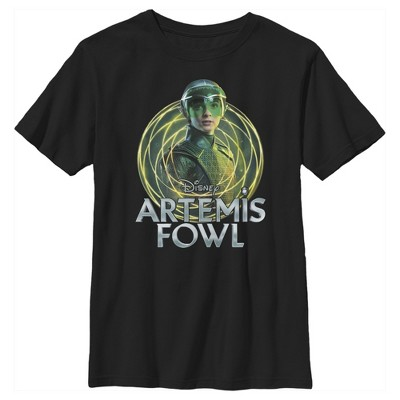Boy's Disney Artemis Fowl Captain Holly Short Swirl T-Shirt