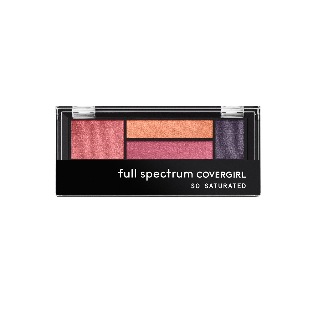 Covergirl So Saturated Quad Palette Prophecy - 0.06oz