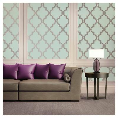 Devine Color Cable Stitch Peel & Stick Wallpaper - Horizon & Sterling
