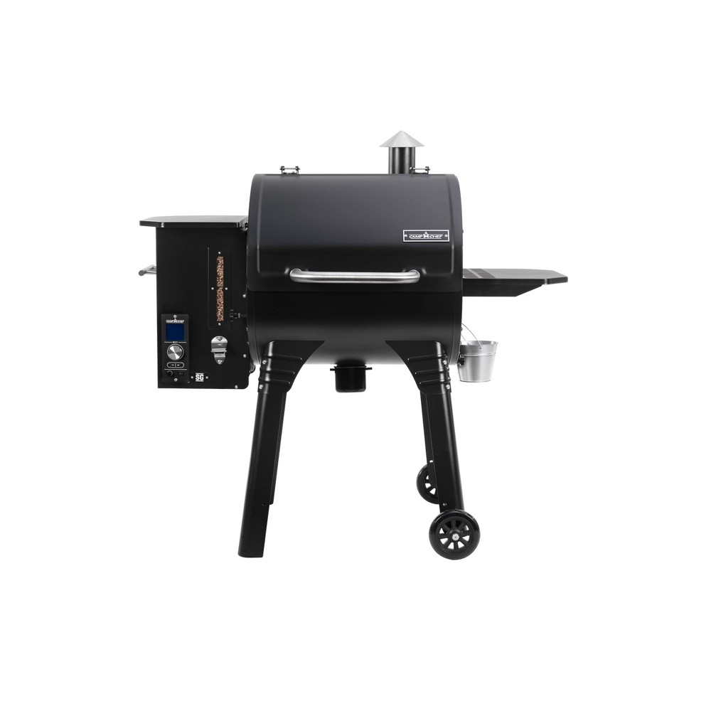 Camp Chef Smokepro Sg 24 Wifi Pellet Grill Black