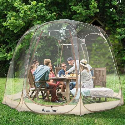 12' x 12'  Bubble Tent Pop Up Gazebo - Alvantor
