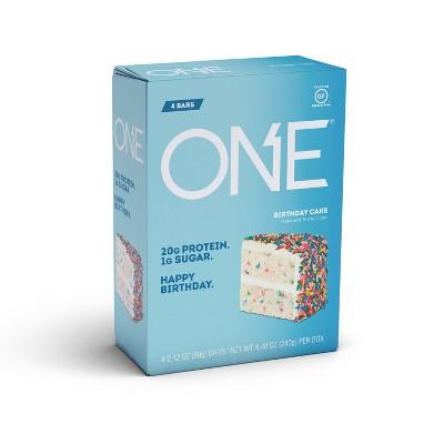 ONE Protein Bar - Birthday Cake - 4ct