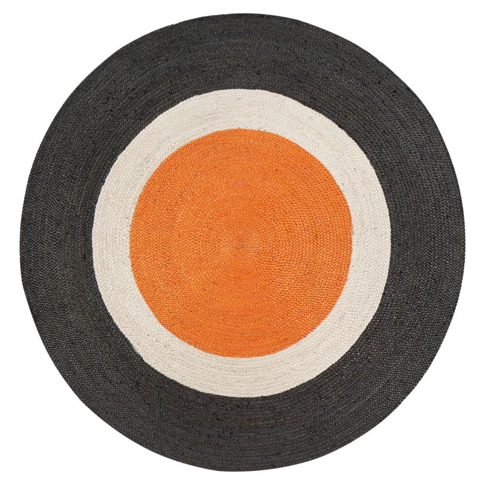 8' Round Dot Jute Rug - Anji Mountain 8' Round Dot Jute Rug - Anji Mountain Color: MultiColored. Gender: unisex. Pattern: Shapes.