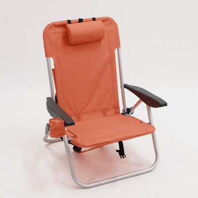 Outdoor Backpack Chair - Orange - Project 62™