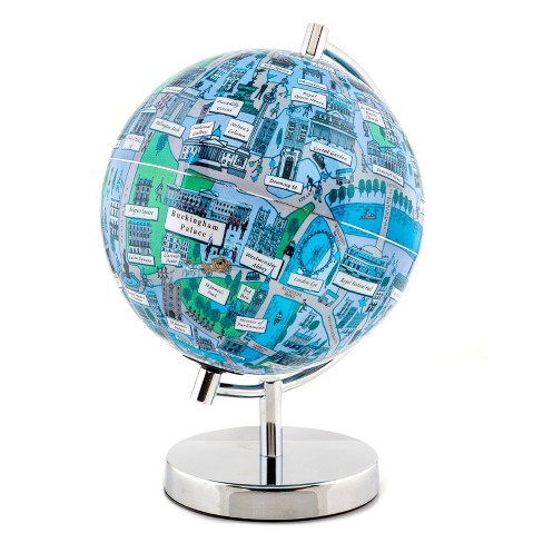 "Globee London 4"" Illustrated Globe - image 1 of 1"