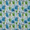 Flicker Seaglass Chaise Lounge Outdoor Cushion Blue - Pillow Perfect - image 3 of 3