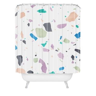 Mareike Boehmer Terrazzo Shower Curtain - Deny Designs