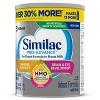 Similac Pro-Advance Non-GMO Infant Formula with Iron Powder - 123.2oz Total - image 3 of 4