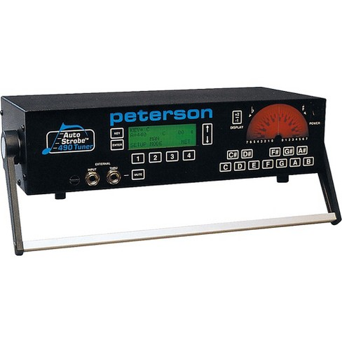 Peterson 490 8-Octave AutoStrobe Tuner - image 1 of 1