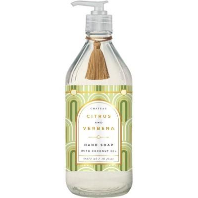 Chateau Hand Soap Citrus and Verbena - 16 fl oz