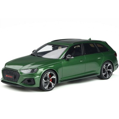 Audi RS 4 Avant Sonoma Green Metallic Limited Edition to 999 pieces Worldwide 1/18 Model Car by GT Spirit