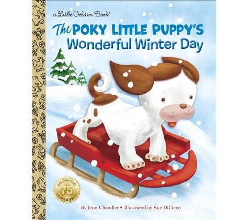 Poky Little Puppys Wonderful Winter Day Hardcover Target