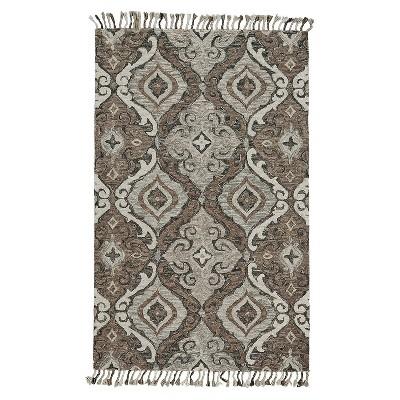 Feizy Abelia Moroccan Ornamental Gray Area Rug