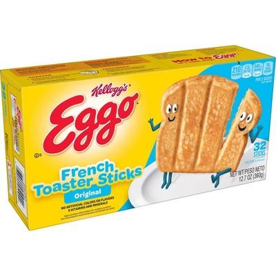 Kellog's Original Eggo Frozen French Toaster Sticks - 12.7oz/32ct