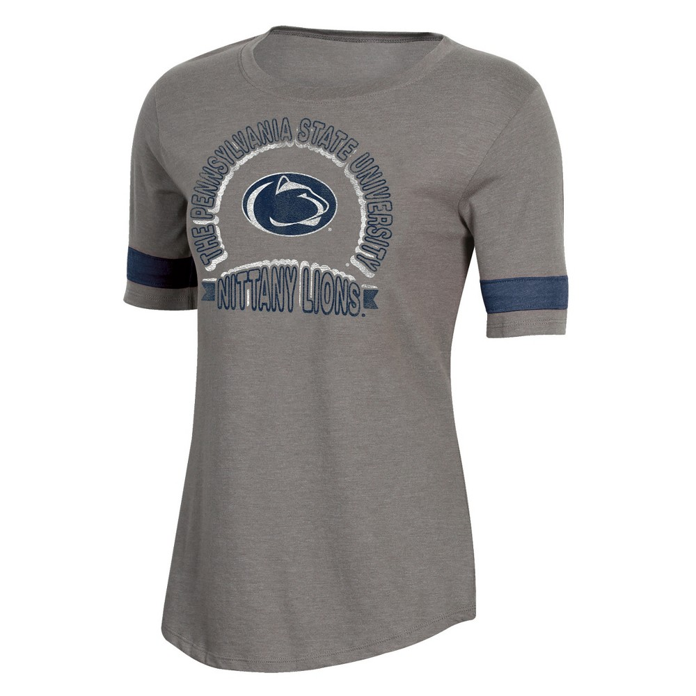 NCAA Women's Short Sleeve Scoop Neck T-Shirt Penn State Nittany Lions - XL, Multicolored