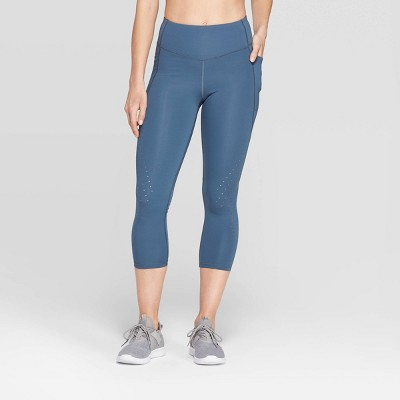 "view Women's Training High-Waisted Capri Leggings 20"" - C9 Champion® on target.com. Opens in a new tab."