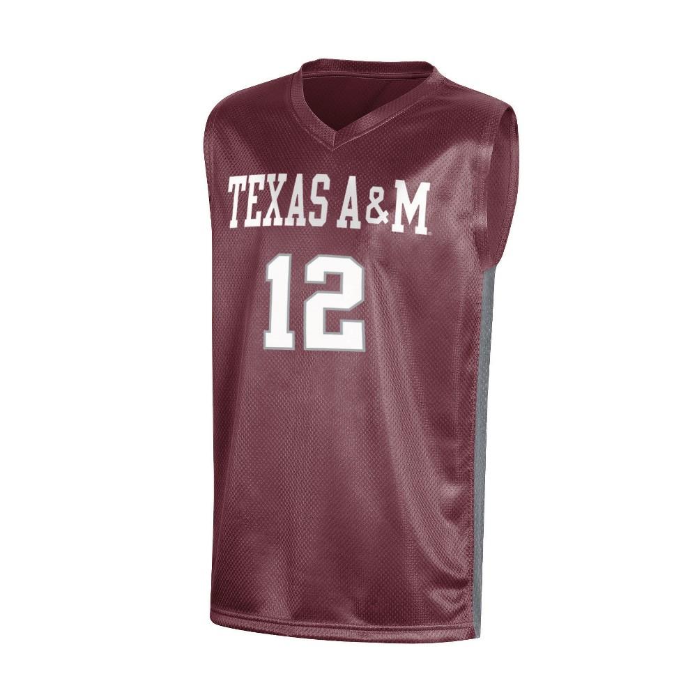 NCAA Boy's Basketball Jerseys Texas A&m Aggies - L, Multicolored